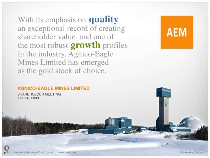 With its emphasis on quality   ,    an exceptional record of creating    shareholder value, and one of    the most robust ...