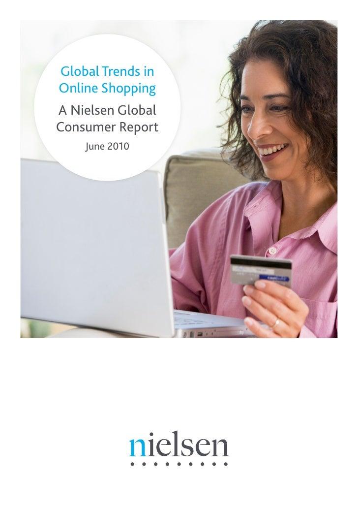 Global Trends inOnline ShoppingA Nielsen GlobalConsumer Report    June 2010