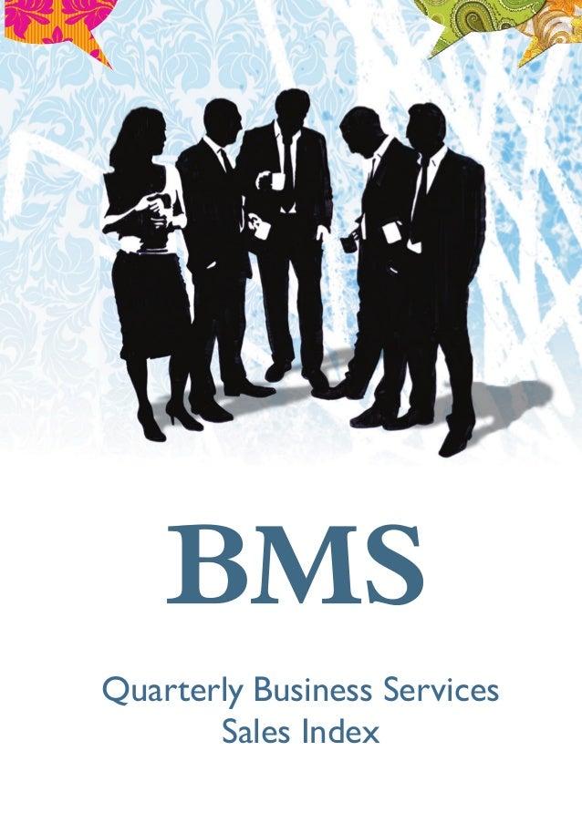 Quarterly Business ServicesSales Index
