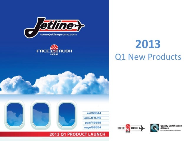 Jetline's 2013 New Items