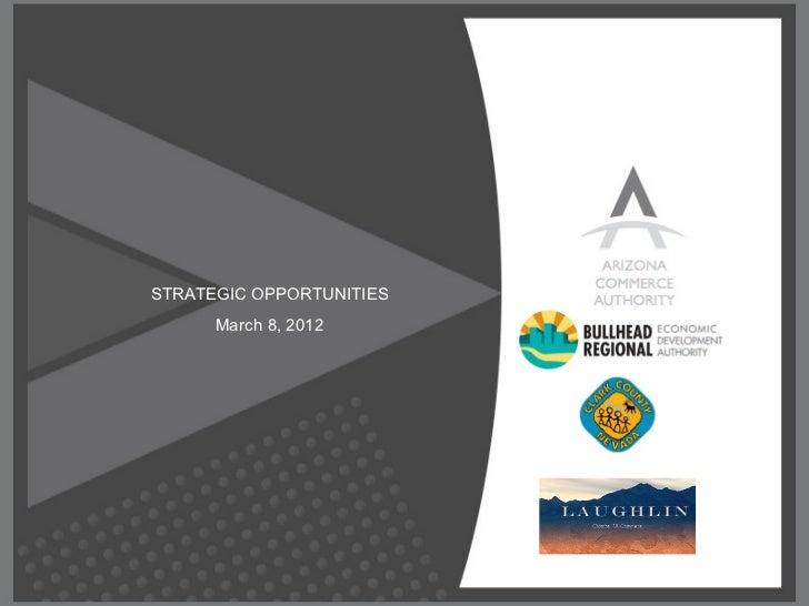 Arizona Commerce Authority Presentation