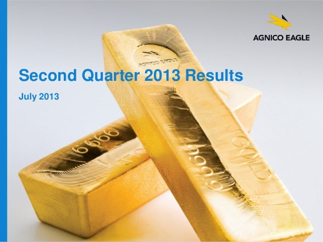 Q2 2013 Results