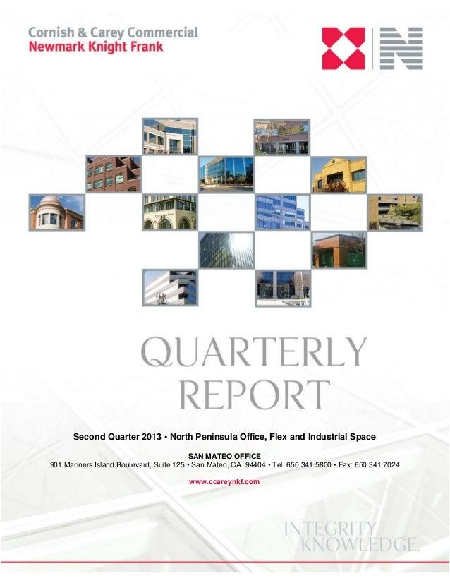 Q2 2013 north peninsula quarterly report