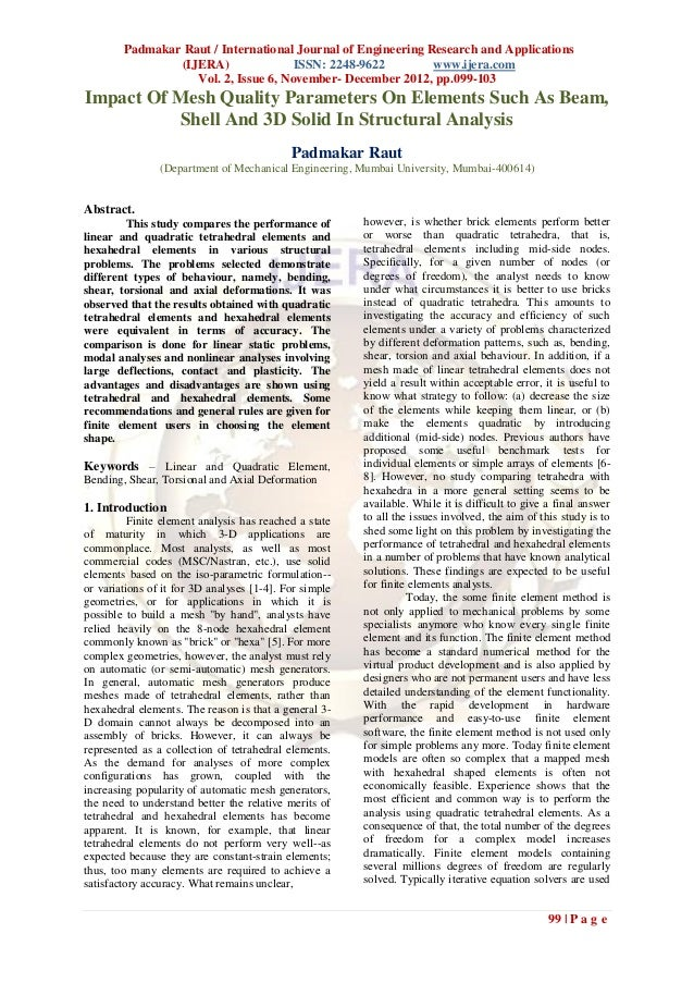 Padmakar Raut / International Journal of Engineering Research and Applications                (IJERA)               ISSN: ...