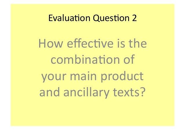 Evaluation Q2