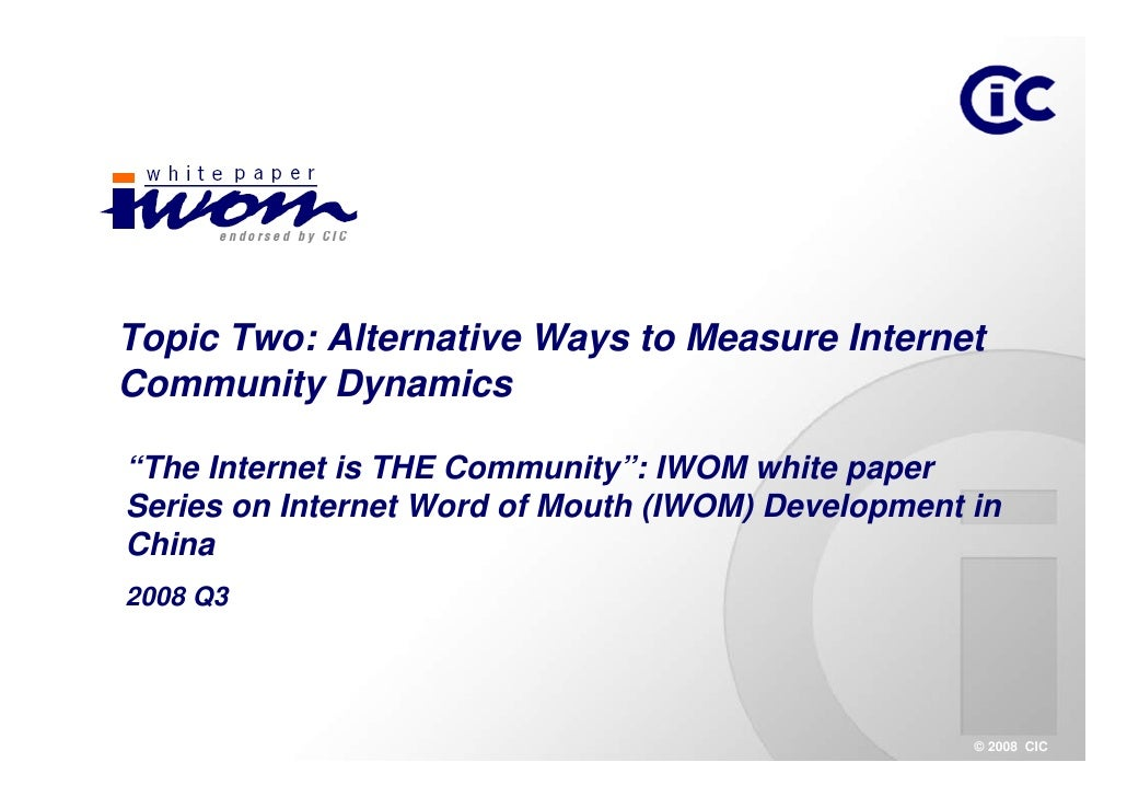 Q3 WP Topic two-Alternative Ways to Measure Internet Community Dynamics_EN