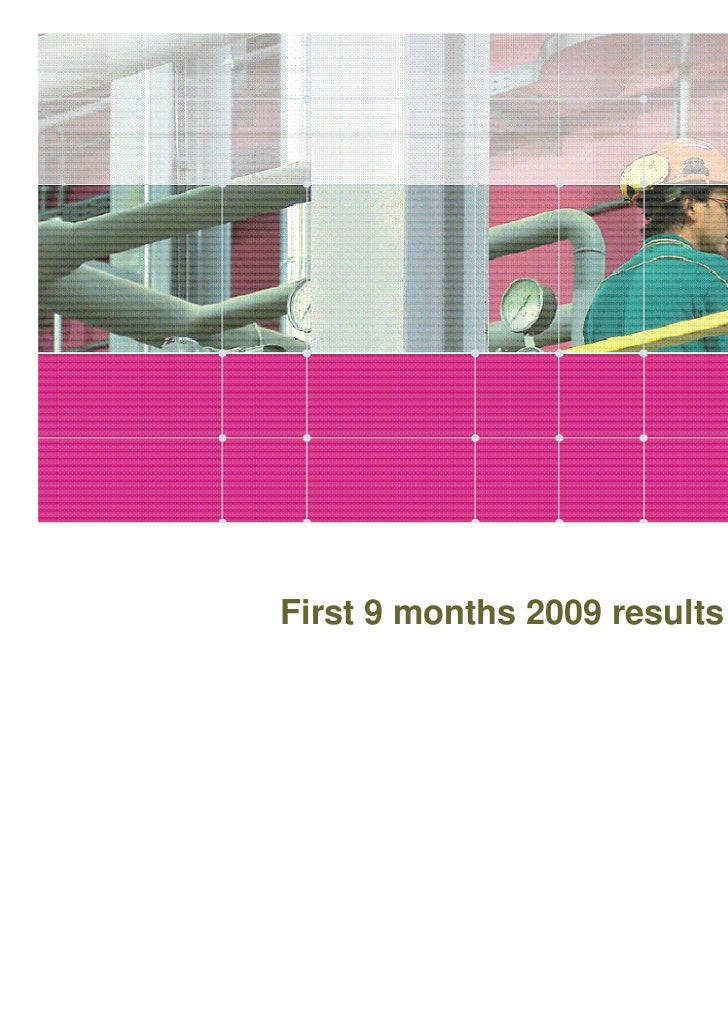 First 9 months 2009 results                              www.gruppohera.it
