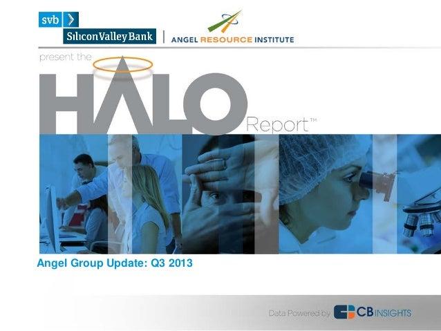 Halo Report Q3 2013