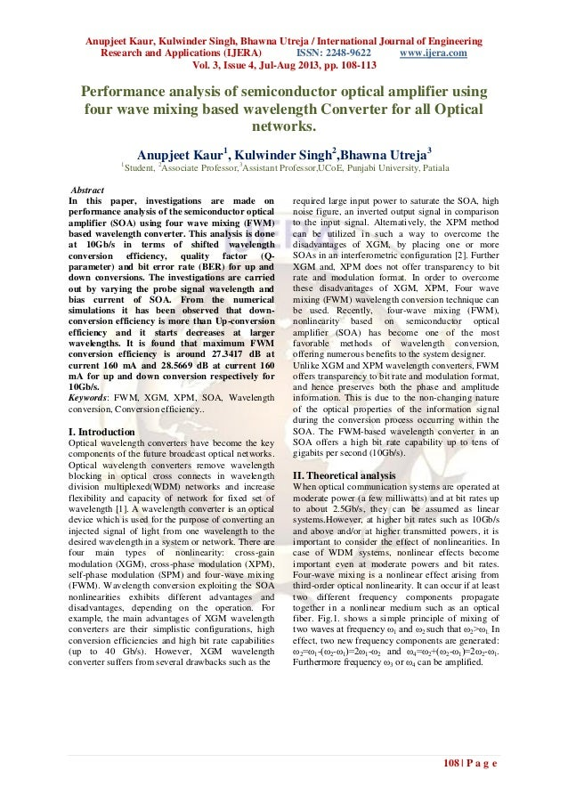 Anupjeet Kaur, Kulwinder Singh, Bhawna Utreja / International Journal of Engineering Research and Applications (IJERA) ISS...