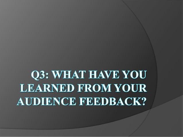 Q3 evaluation