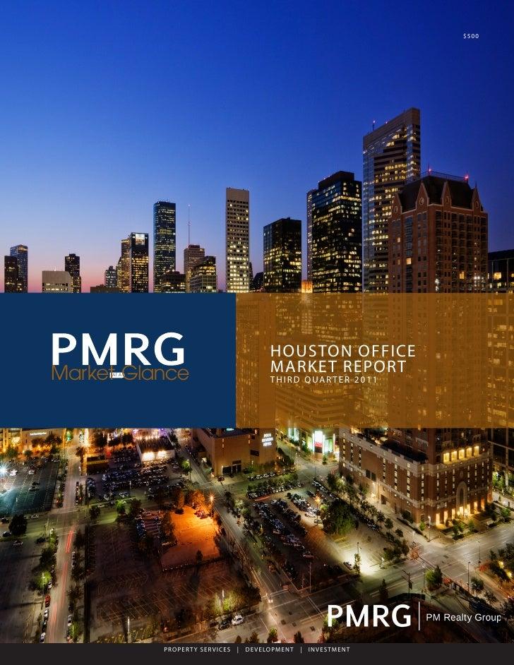 PMRG Q3 Houston Office Market Report