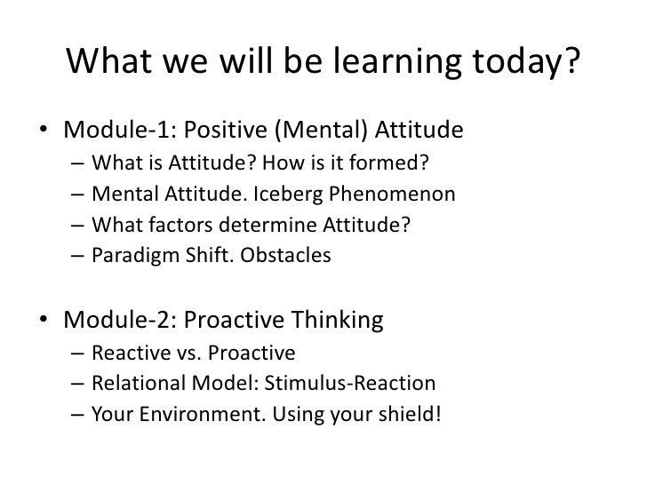 Positive influence essay