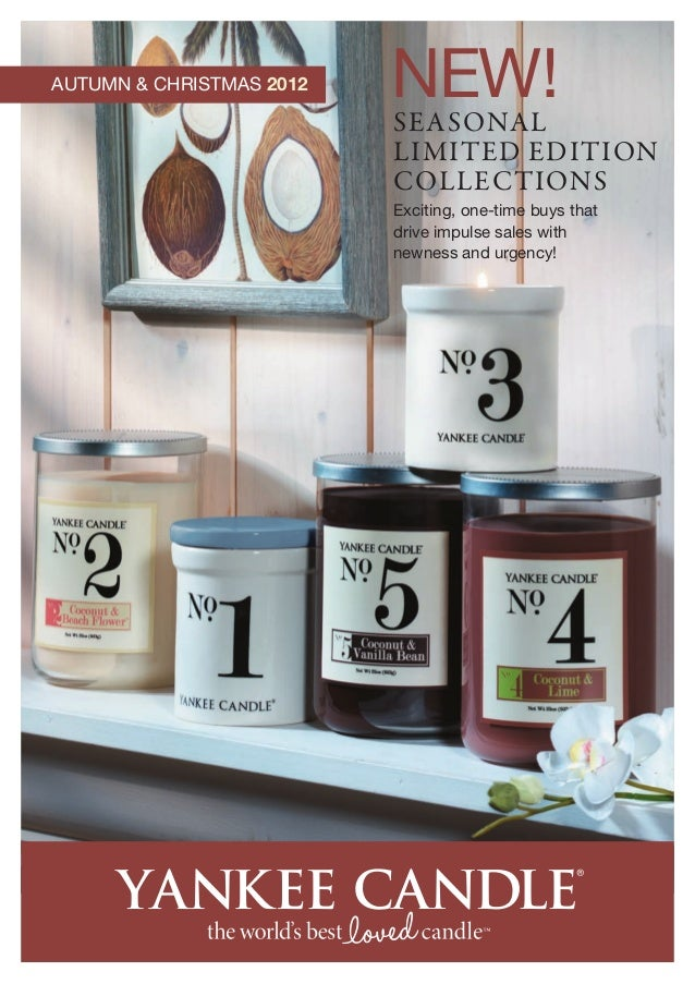 Yankee Candles Brochure for 2012