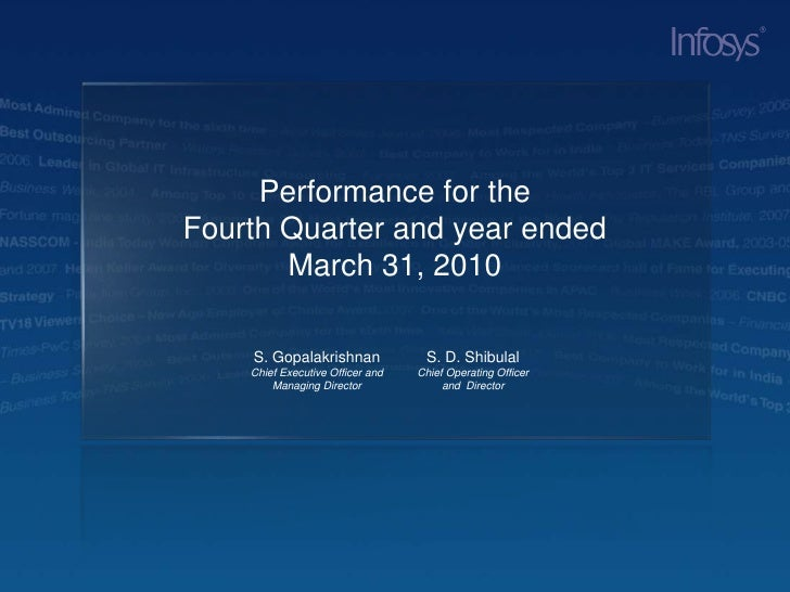 Q4 & FY'09-10 Annual Results