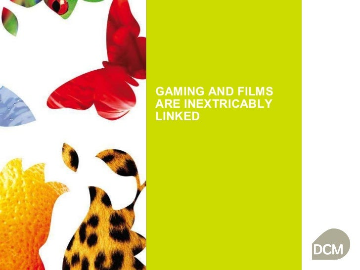 Gaming and films are inextricably linked