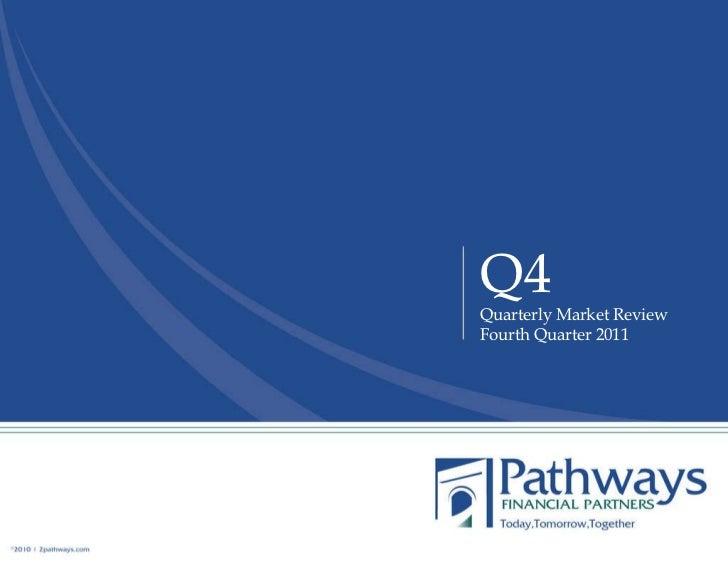 Q4 Quarterly Market Review Fourth Quarter 2011