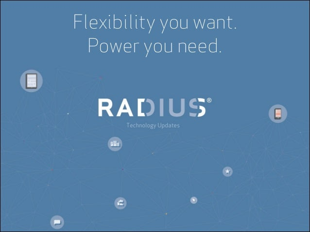 Flexibility you want. Power you need.