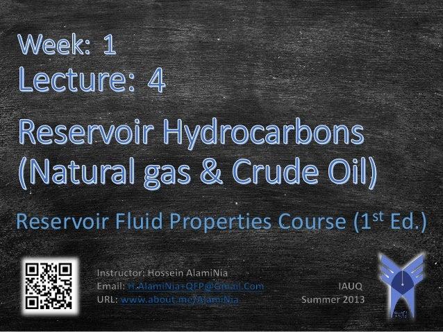 Reservoir Fluid Properties Course (1st Ed.)
