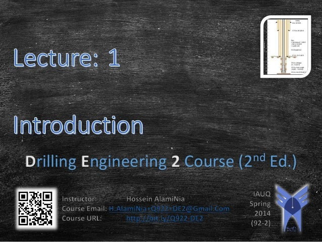 Drilling Engineering 2 Course (2nd Ed.)