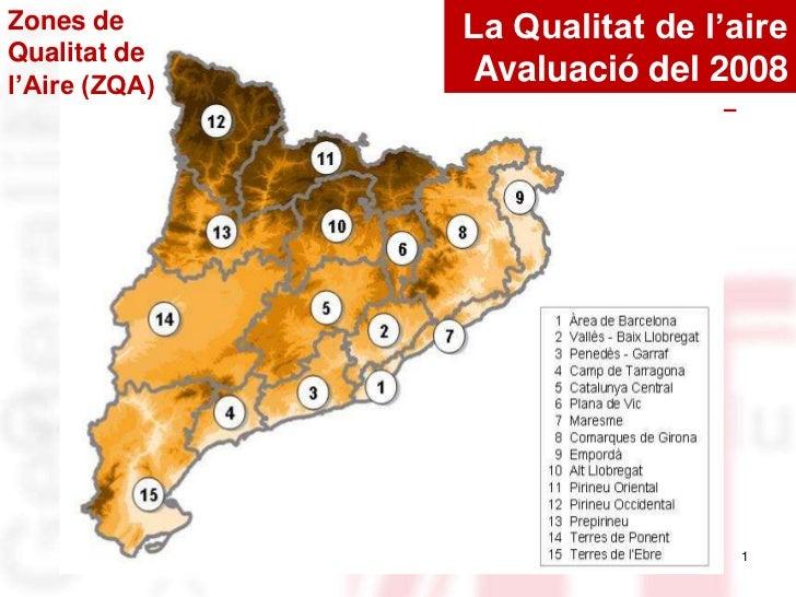 Avaluació de la qualitat de l'aire a Catalunya 2010
