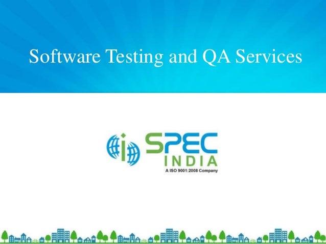 Qa capabilities spec india casestudy