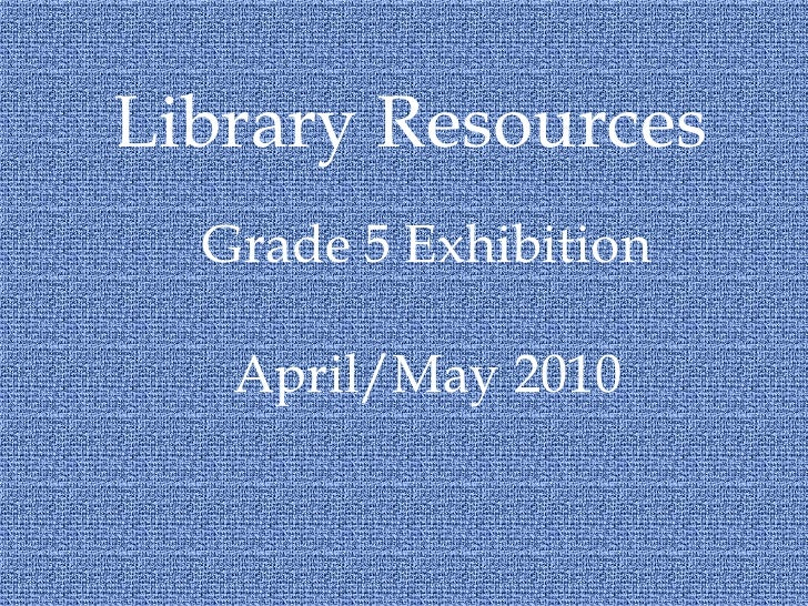 QA Library Resources