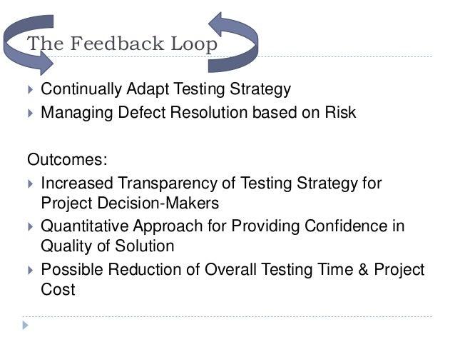 Testing Feedback Loop The Feedback Loop