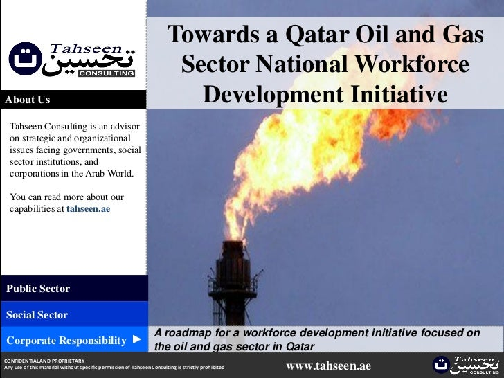 Towards a Qatar Oil and Gas                                                                        Sector National Workfor...