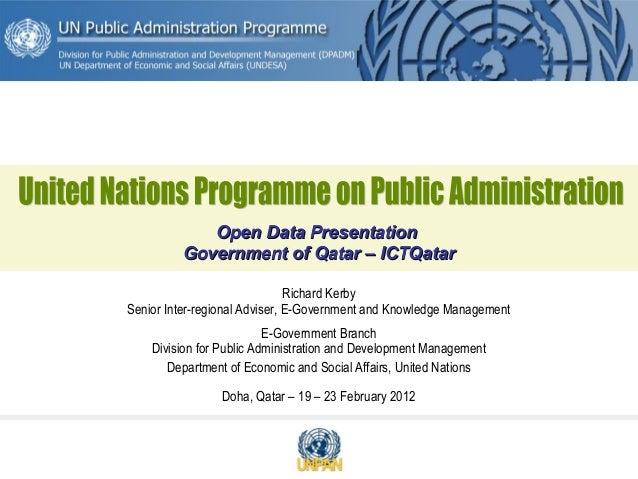Qatar open data