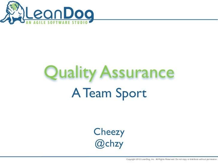 Qa team sport