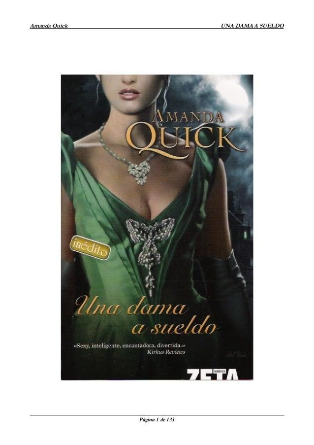 Amanda Quick  UNA DAMA A SUELDO  Página 1 de 133