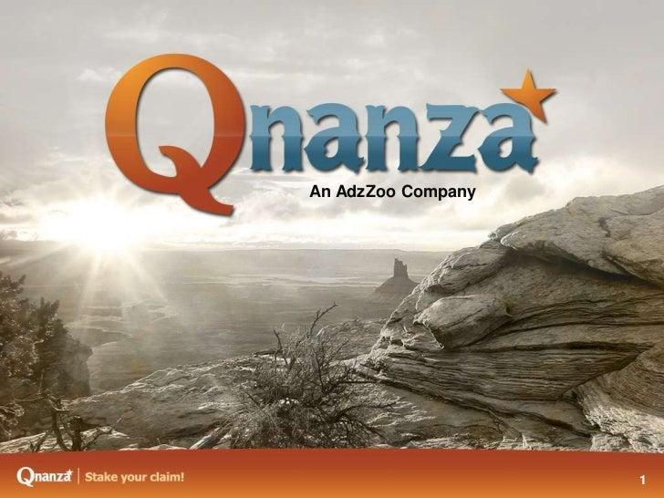 Qanaz Business Opportunity Presentation