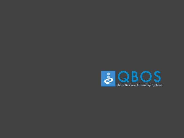 QBOS Quick Business Operating Systems