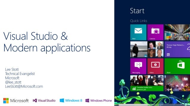 QBS Visual Studio 2012 and modern windows apps
