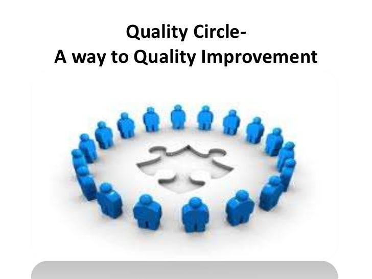Quality Circle-A way to Quality Improvement