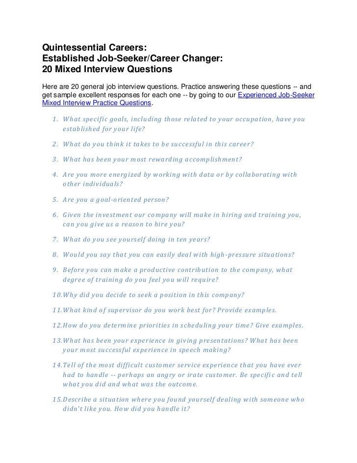 Qc 20 mixed questions