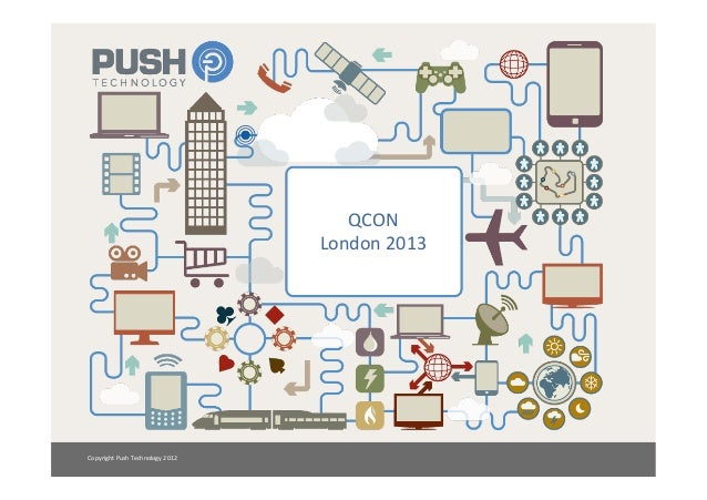 QCON                                               London 2013 Copyright Push Technology 2012