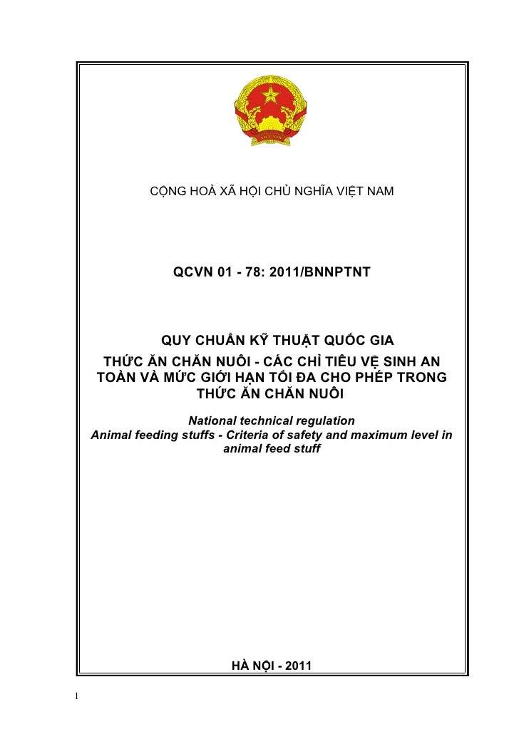 Qcvn 01 78