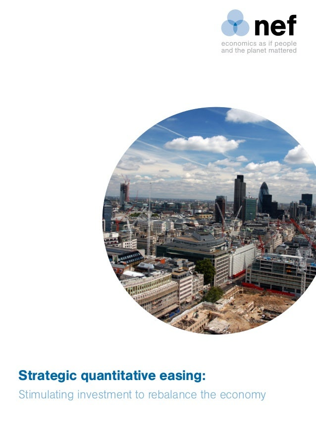 Strategic quantitative easing: Stimulating investment to rebalance the economy