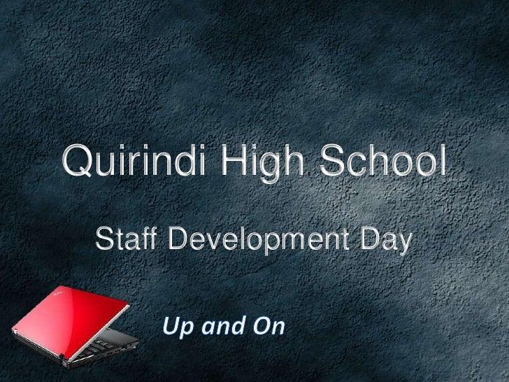 Quirindi High School Staff Development Day