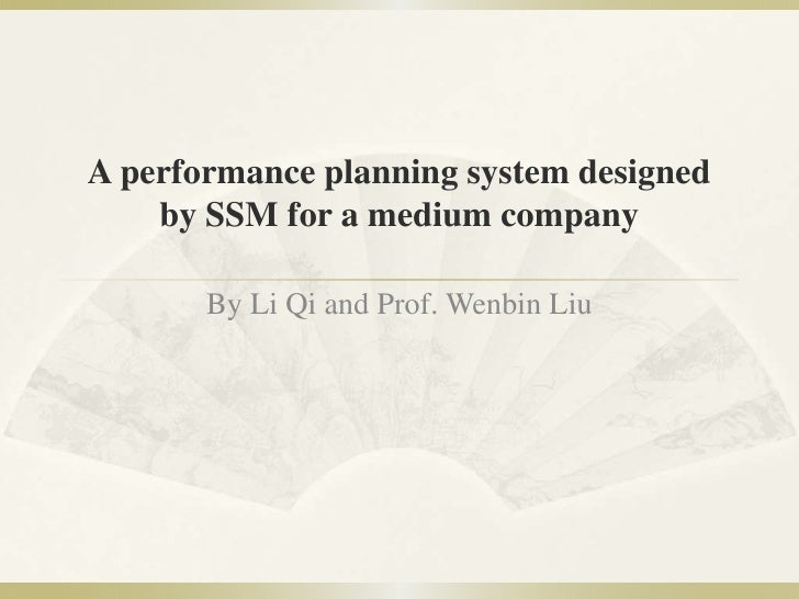 Paper 4: Performance Management in SMEs (Qi)