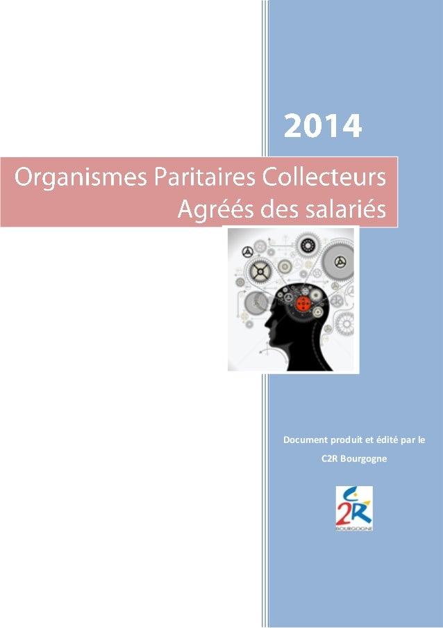 Document produit et édité par le C2R Bourgogne