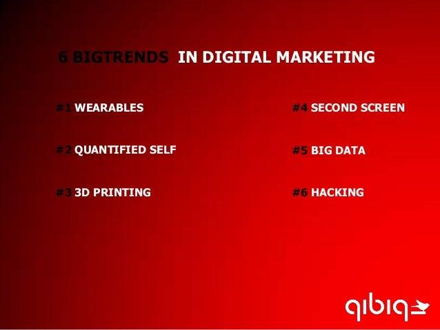 6 big digital marketing trends