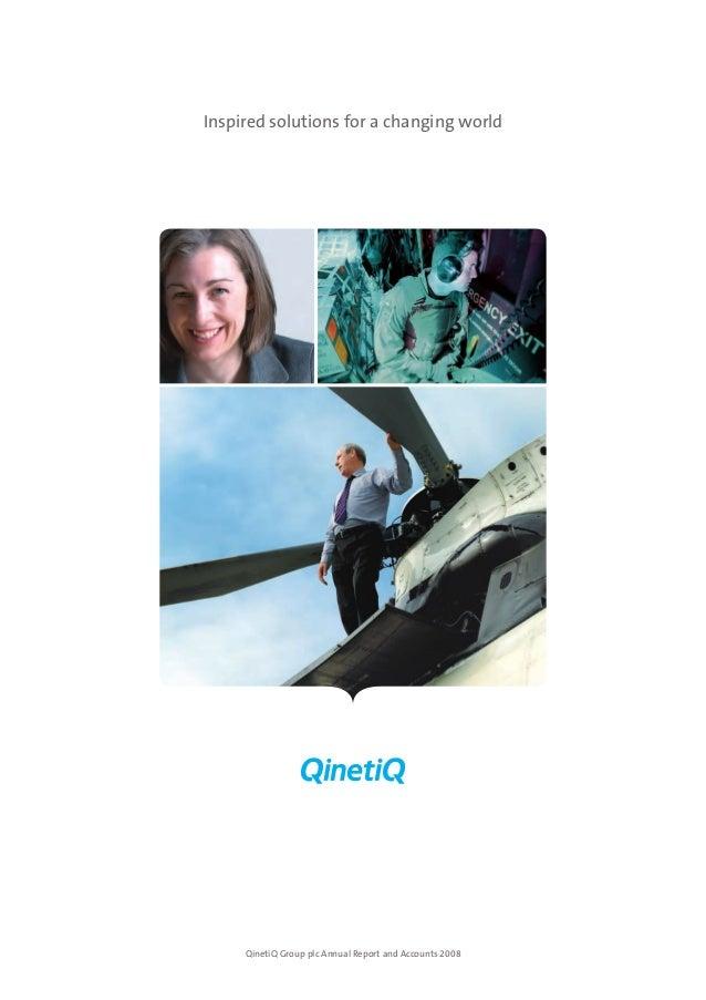 Qineti q annual report 2008