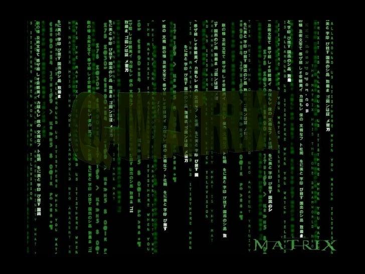 Q matrix presentation