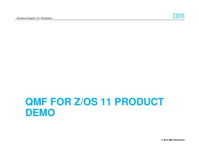 Qmf for z os nordic db2 days andy