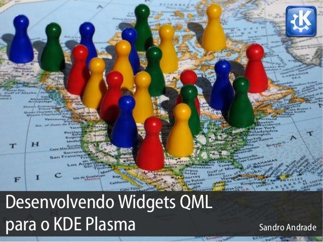 Desenvolvendo Widgets QML para o KDE Plasma