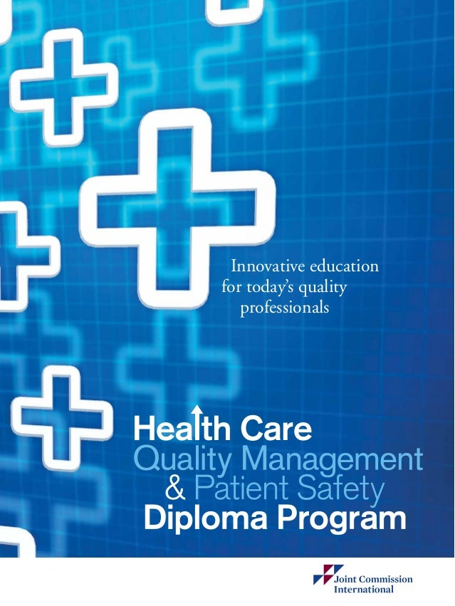 quality management and patient safety essay Digital media is changing how patients get their information about hospitals,   you can pursue topics such as quality assurance practice in health care or.