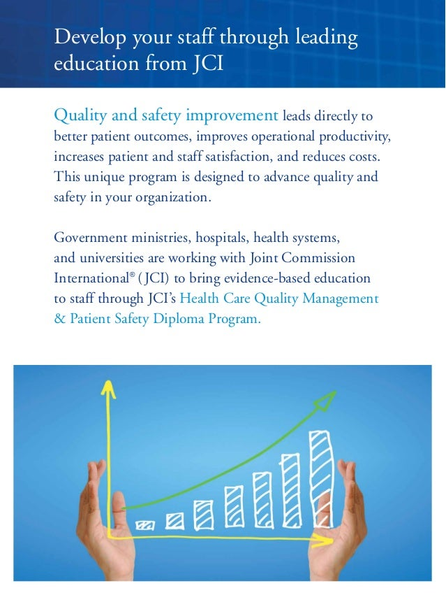 quality management and patient safety essay View this essay on quality and safety in these components are handled and can be improved based on leadership/management theory content patient.