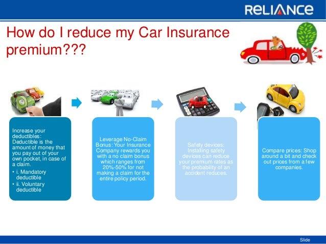 How Do I Reduce My Car Insurance